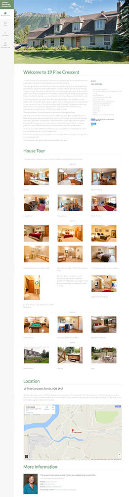 Real Estate Brochure Website
