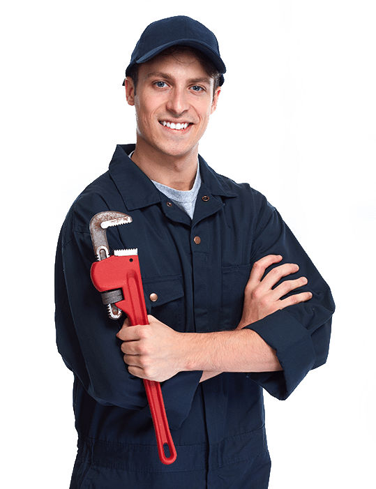 Plumber with no background
